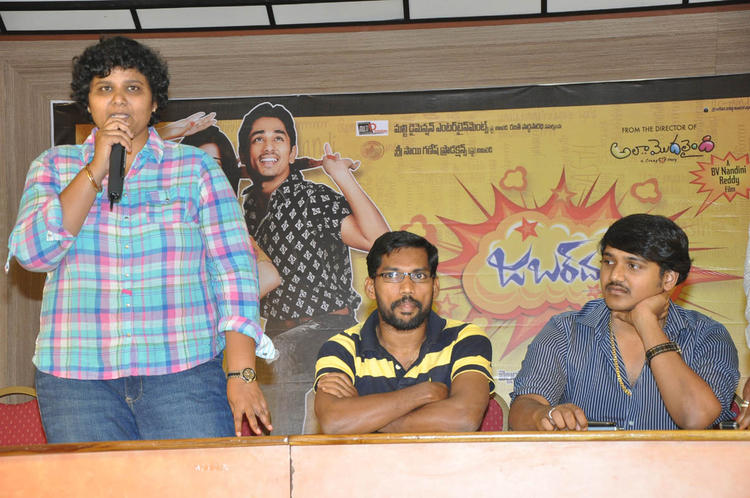 Nandini Reddy Speak Out Photo Clicked At Jabardasth Press Meet