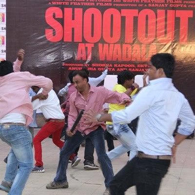 A Still Of Trailer Launch Of Shootout At Wadala
