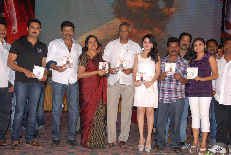 Celebs With Audio CDs Posed For Camera At Jai Sriram Audio Launch Function