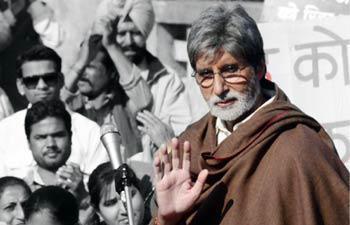Amitabh Bachchan Latest Photo Still From Movie Satyagraha
