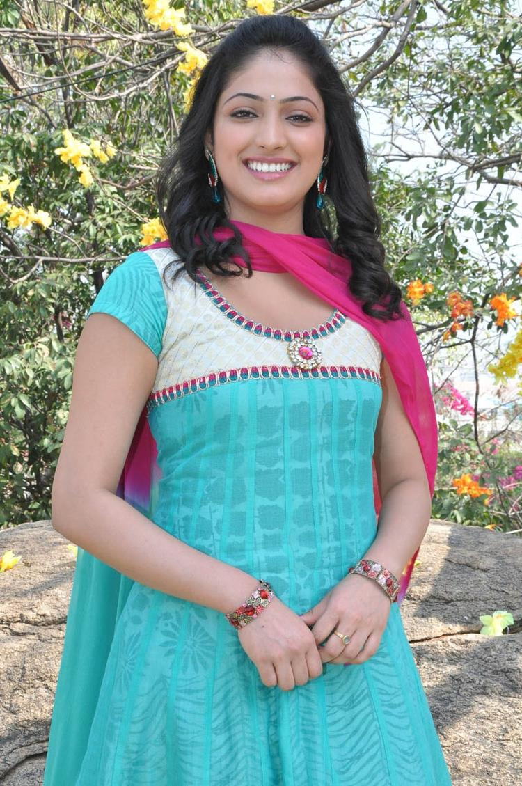 Haripriya Trendy Looking Photo Still At Ee Varsham Sakshiga Movie Launch Function