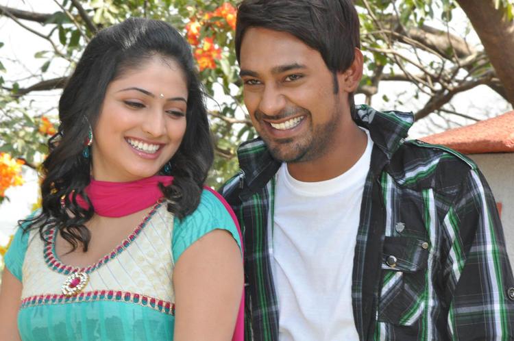 Haripriya And Varun Glamorous Look Still At Ee Varsham Sakshiga Movie Launch