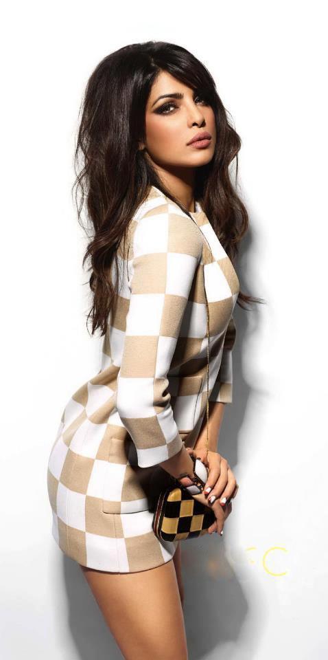 Priyanka Chopra Bold Look Photo Shoot For Vogue India March 2013