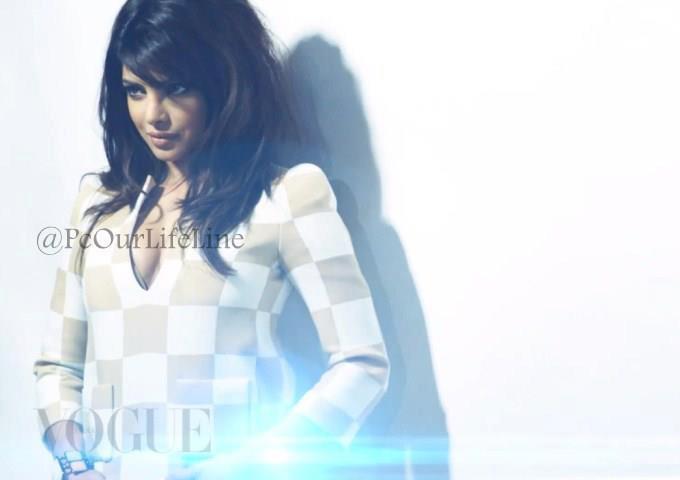 Priyanka Chopra Nice Look Photo Shoot For Vogue India March 2013