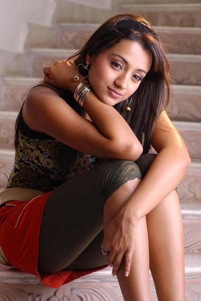 Trisha Gorgeous Look Photo Still From Movie Kanchu