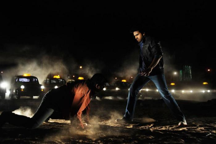 Ram Charan Dashing Look In A Fighting Photo Stil From Movie Naayak