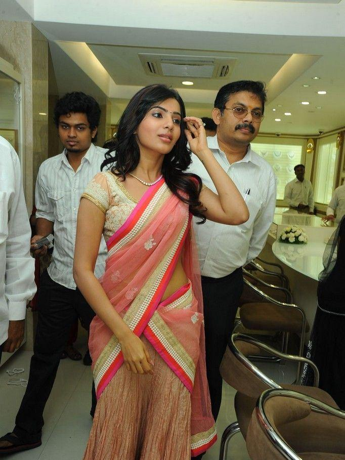 Samantha Arrived At The Launch Of Diamond Jewellery In Kirtilal Jewellers