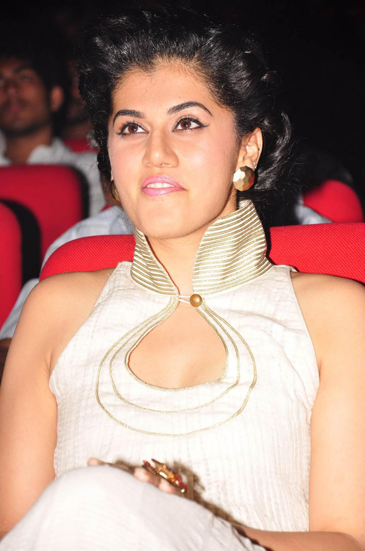 Taapsee Looked Radiant And Beautiful Photo Still At Shadow Audio Release Function