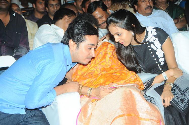 Shalini And Lakshmi At Badshah Audio Launch Function