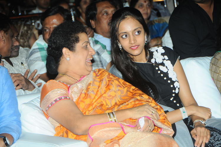 Shalini And Lakshmi During The At Badshah Audio Launch Function