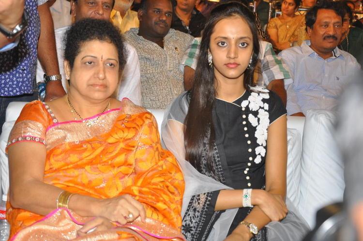 Shalini And Lakshmi Enjoy The Programme At Badshah Audio Launch Function