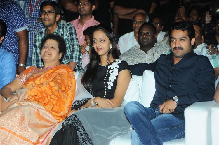 Shalini,Lakshmi And Jr. NTR Snapped At Badshah Audio Launch Function