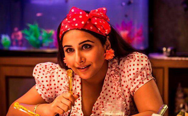 Vidya Balan Sexy Look Photo Still From Movie Ghanchakkar