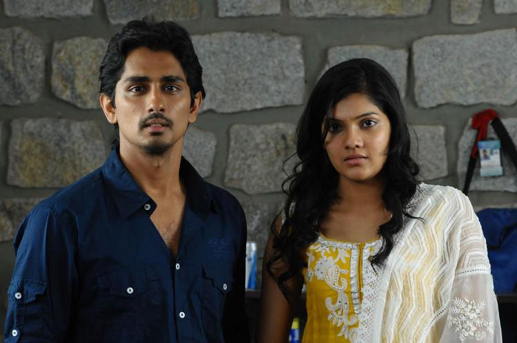 Siddharth And Ashrita Astonish Look Photo Still From Movie Udhayam NH4