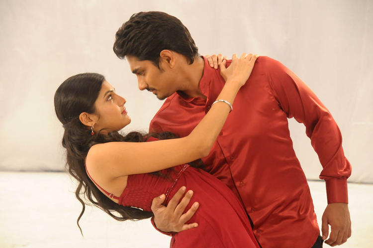 Siddharth And Ashrita Sexy Expression Look Photo Still From Movie Udhayam NH4