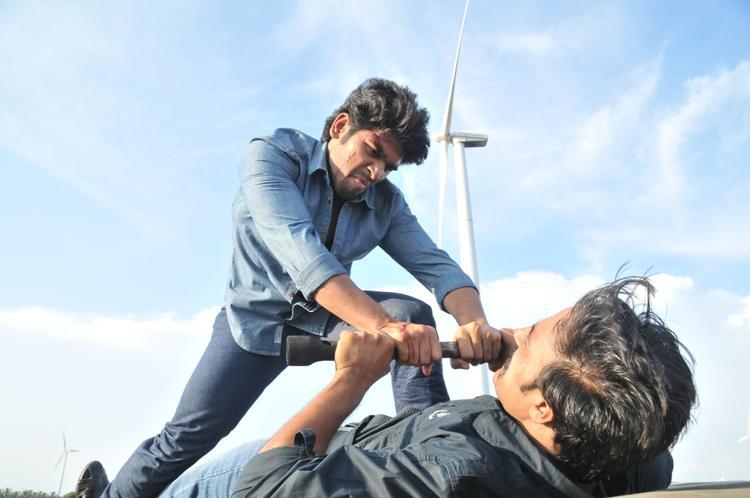 Allu Sirish Fighting Scene Photo Still From Movie Gouravam