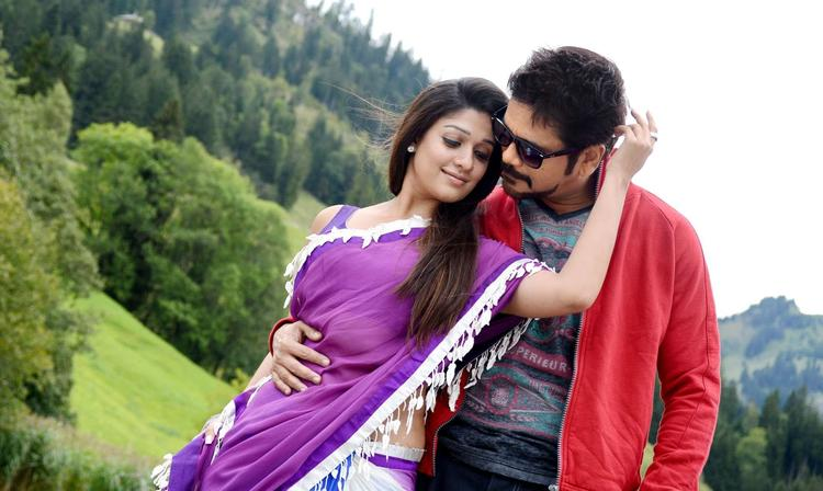 Nagarjuna And Nayantara Hot Look Photo Still From Movie Greeku Veerudu