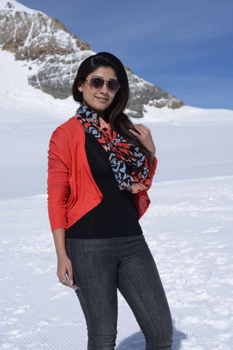 Nayantara Stunning Look Photo Still From Movie Greeku Veerudu