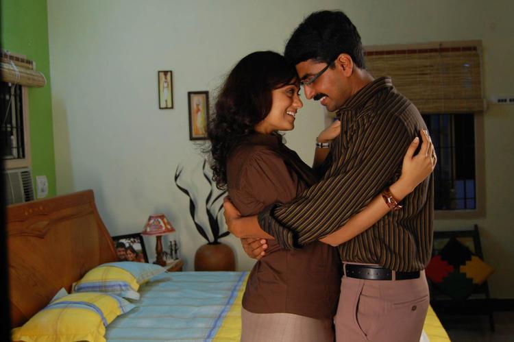 Sexy Hug Photo Still From Movie Lavvata