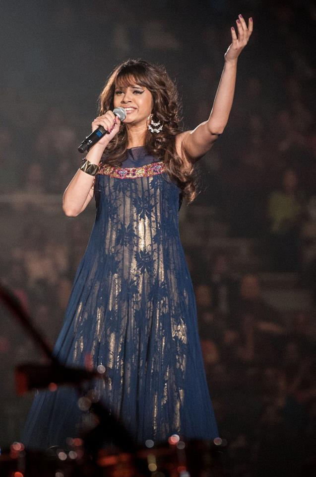 Shalmali Kholgade Mesmerizes The Audience With Her Voice During The TOIFA Musical Extravaganza, Held In Vancouver, Canada