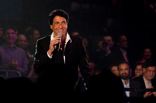Shiamak Davar Speaking At The TOIFA 2013 Musical Extravaganza Function