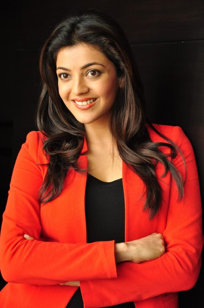Kajal Awesome Look Photo Still At Baadshah Interview