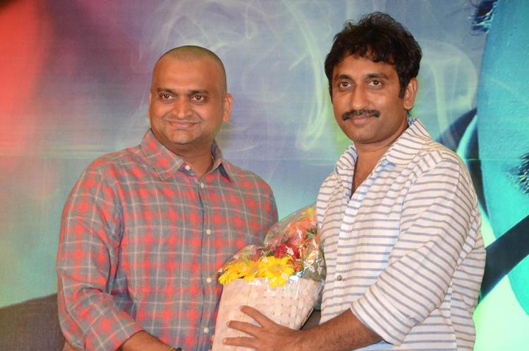 Bandla Ganesh And Srinu Snapped At Baadshah Movie Success Meet