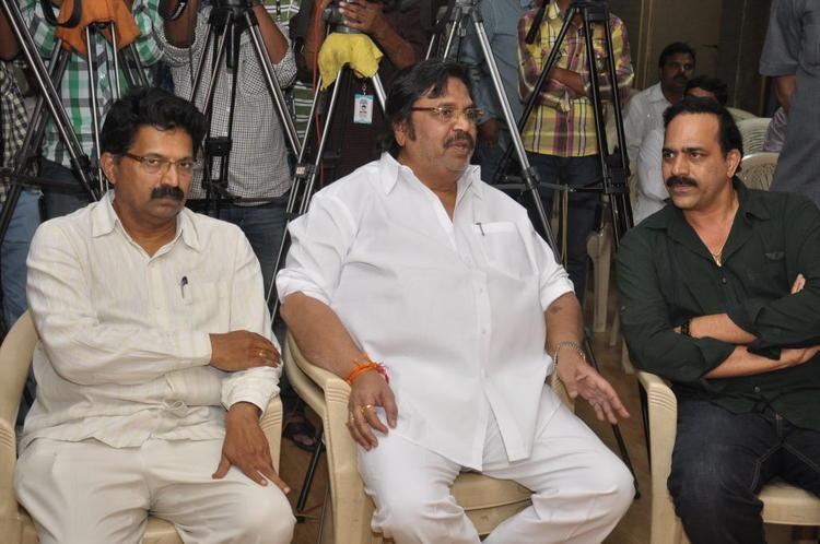 Dasari Narayana Present At Jai Sriram Movie Platinum Disc Function