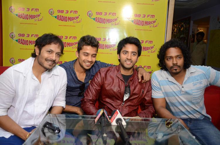 Revanth Make An Appearance At Radio Mirchi To Promote Intinta Annamayya