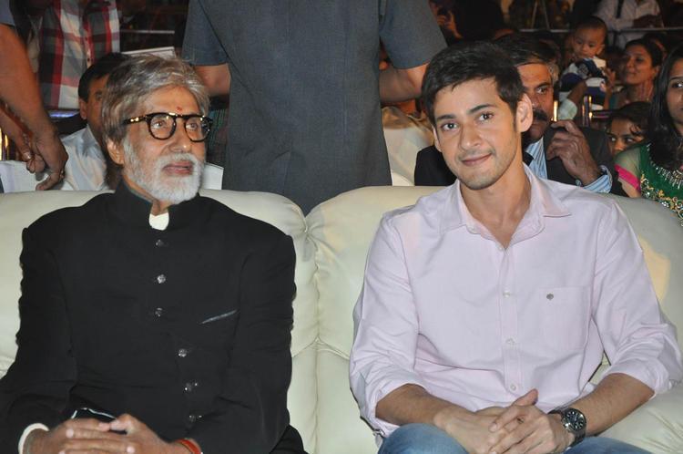 Amitabh Bachchan And Mahesh Babu Graced At Nandi Awards 2011 Function
