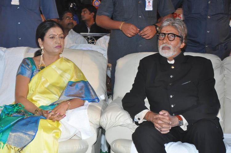 Amitabh Bachchan Present At Nandi Awards 2011 Function