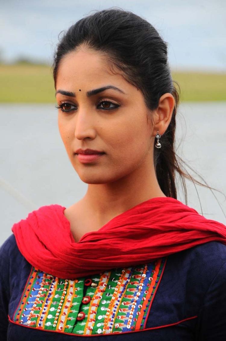 Sirish And Yami Glamour Look Photo Still From Movie Gouravam