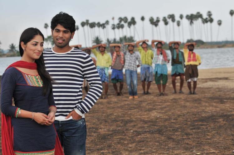 Sirish And Yami Latest Photo Still From Movie Gouravam