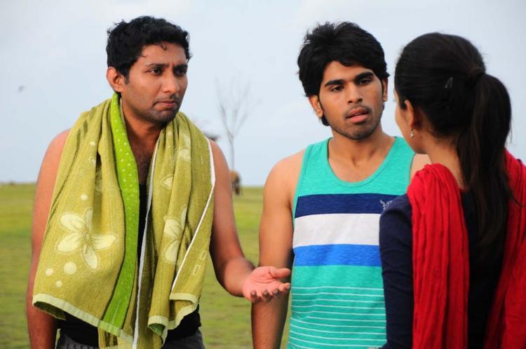 Sirish And Yami New Photo Still From Movie Gouravam