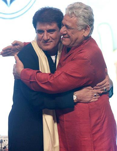 Raj And Om Greets Photo clicked At Baisakhi Festival Celebration