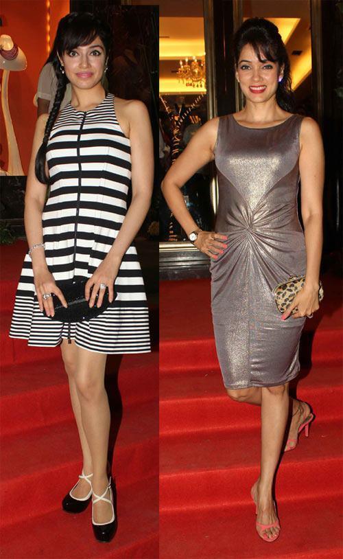 Divya Khosla Kumar And Vidya Malvade Glamour Look At Farah Khan Ali Store Launch Party