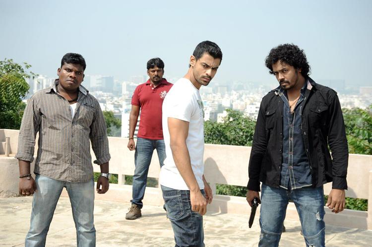Bishnu Dashing Look Photo Still From Telugu Movie Ek