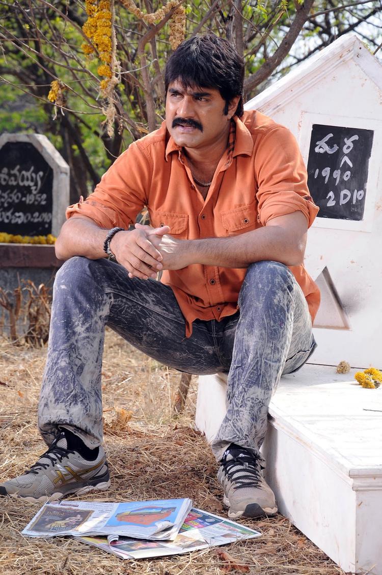 Srikanth Nice Look From Raja Rajeswari Pictures Movie
