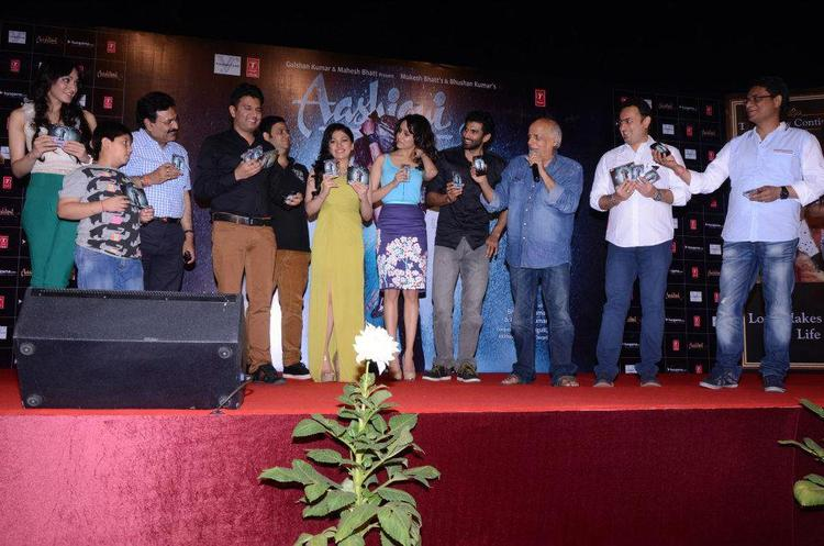 Bhushan,Shraddha,Aditya,Mahesh And Others Graced At Aashiqui 2 Movie Music Launch Event