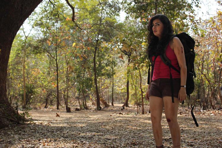 Archana Feary Look Photo Still From Movie Panchami