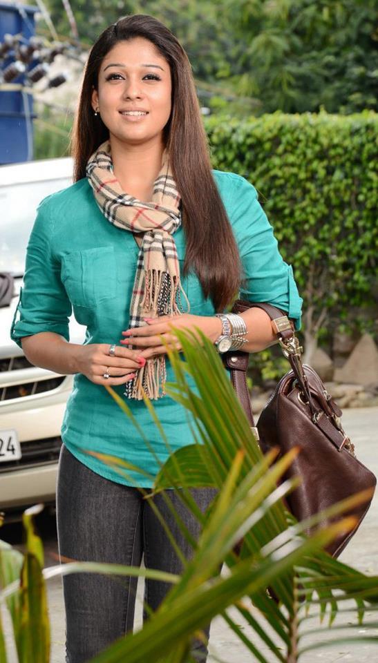 Nayantara Simple Look Photo Still From Movie Greeku Veerudu