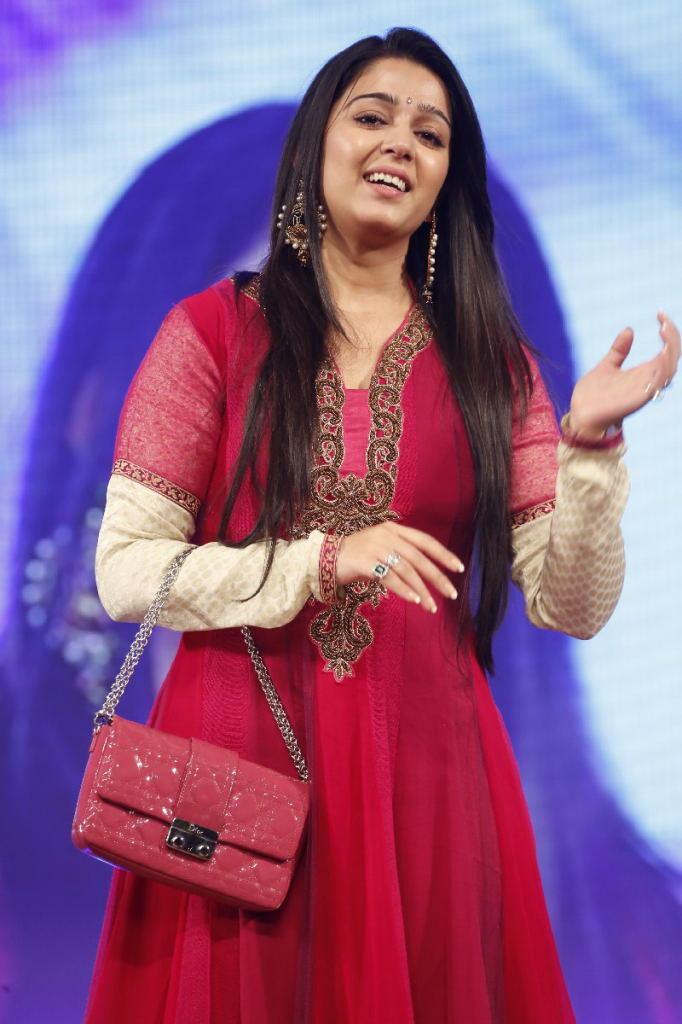 Charmy Kaur Graced At TSR TV9 Film Awards Function