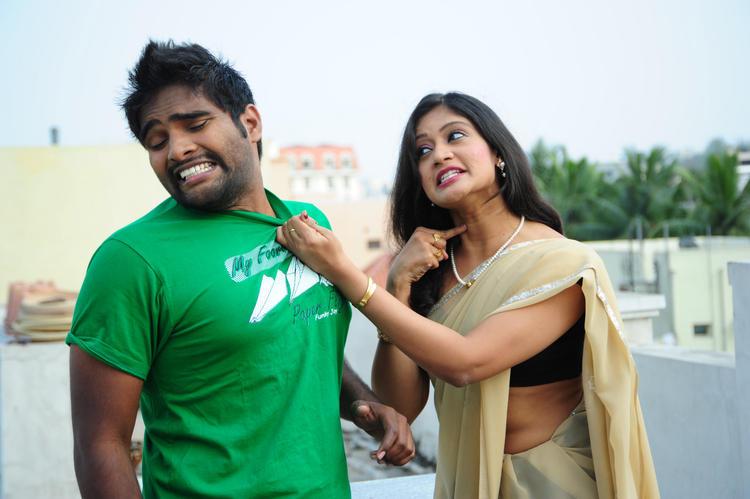 Actress Tanusha A Still From Amma Nanna Oorelithe Movie