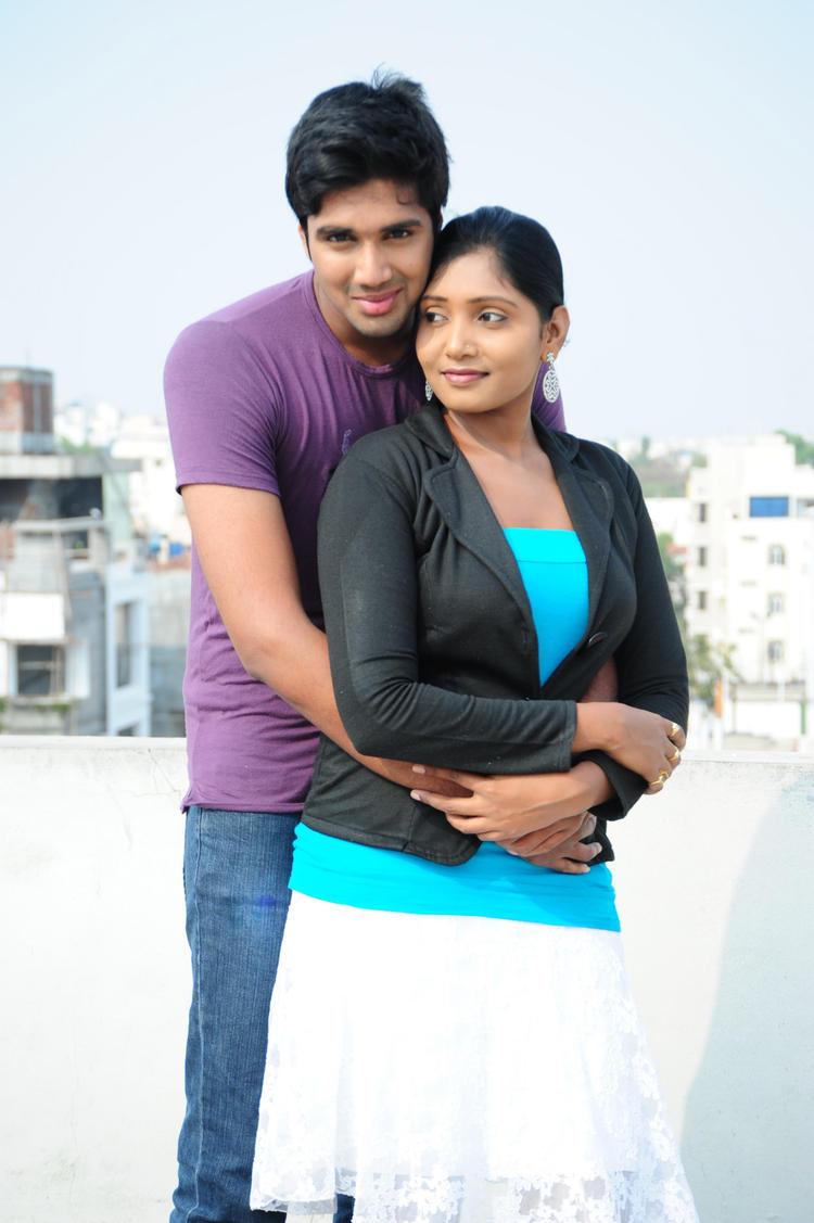 Tanusha Cool Look Still From Amma Nanna Oorelithe Movie