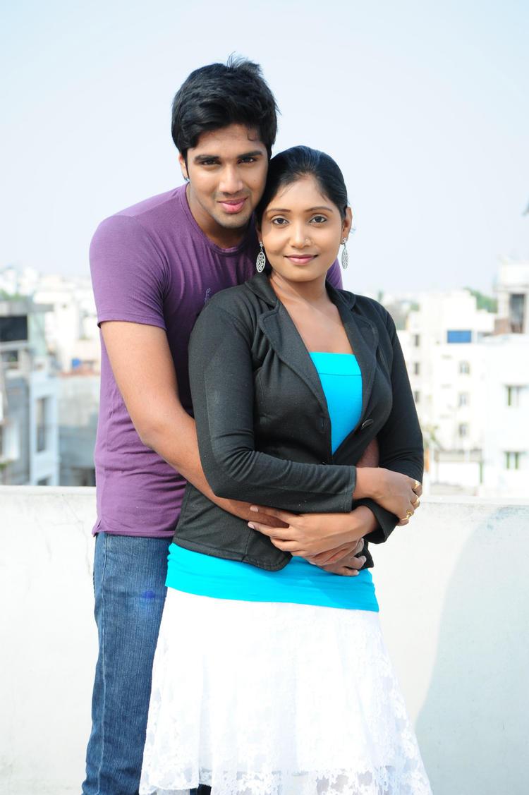 Tanusha Romantic Look Still From Amma Nanna Oorelithe Movie