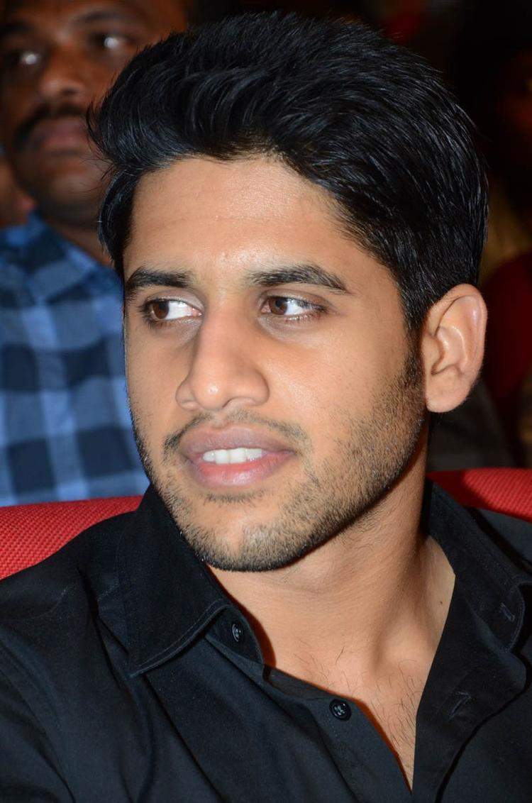 Naga Chaitanya Dazzling Face Look At Tadakha Movie Audio Release Function