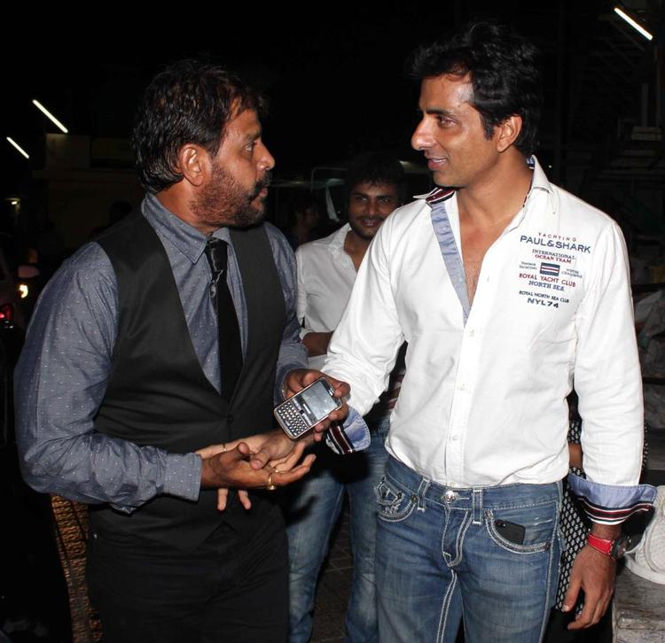 Sonu Sood Cool During The Special Screening Of Shootout At Wadala