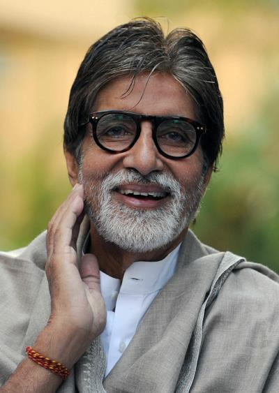 Amitabh Bachchan Cool Smiling Look At Home During The Girl Child Support Event