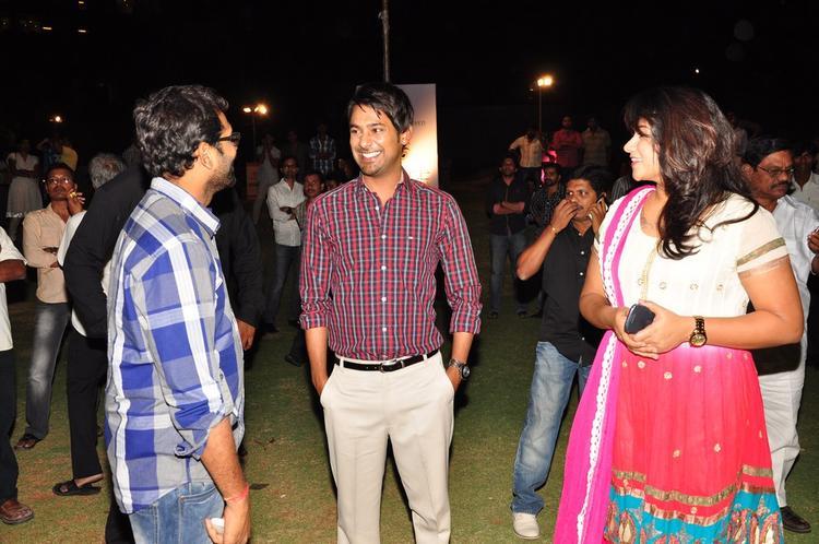 Varun Sandesh Smiling Look At Saradaga Ammaitho Movie Audio Launch Function