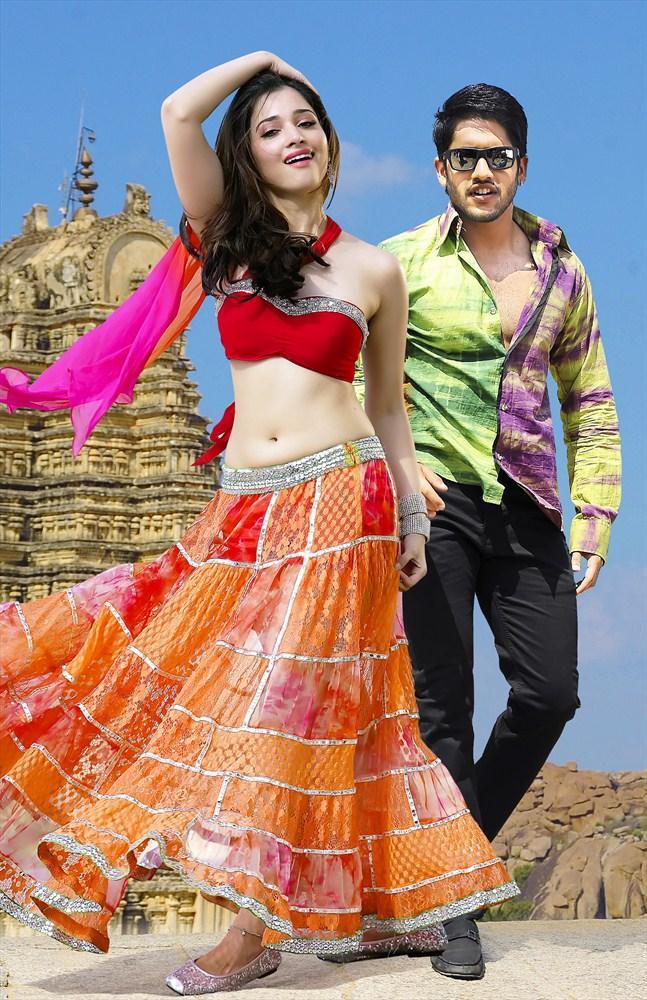 Hot Tamannaah Bhatia And Naga Chaitanya Dance Still From Tadakha Movie